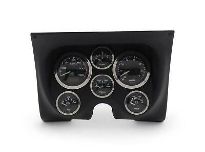 Ems Gauge & Panel Kit 67-68 Camaro Univ Black Ms222-03Bk