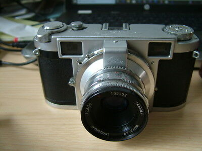 Vintage Leidolf Wetxlar, Lordomat, 35mm Range Finder Camera. Lordonar Lens