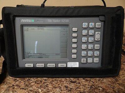 Anritsu SiteMaster S251B Two Port Transmission Cable Antenna Analyzer Site
