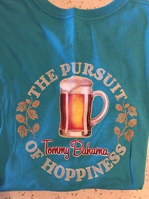 TOMMY BAHAMA PURSUIT of Hoppiness SMALL Azure T-Shirt NWT Men s ... 2adf7d6d5