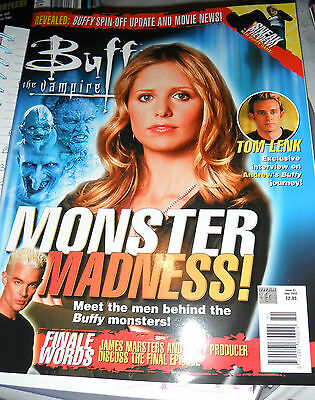 Buffy The Vampire Slayer Magazine Issue 51 Never Been Read