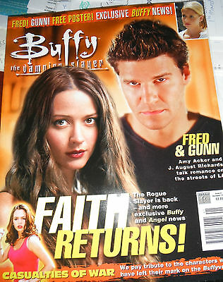 Buffy The Vampire Slayer Magazine Issue 41 Never Been Read