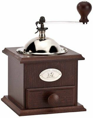 Peugeot Nostalgie Hand Coffee Mill, Walnut