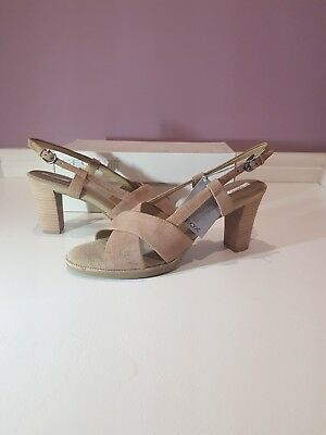 Brand new in box Geox Callie Ladies Sandals Light Taupe