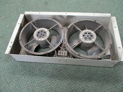 Comair Rotron	Dual Fan Assembly	CLE2L2 115V 0.48/0.50A 50/60Hz Used