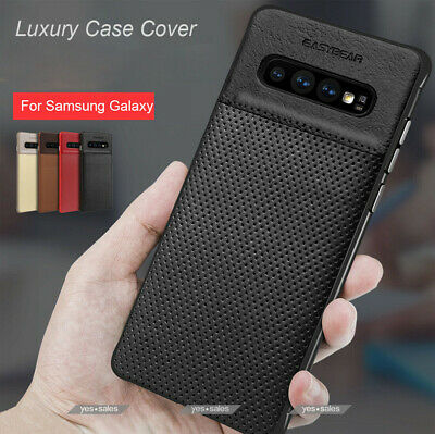 Fits Samsung Galaxy Luxury Leather Ultra-Thin Slim Hard Protective Case Cover