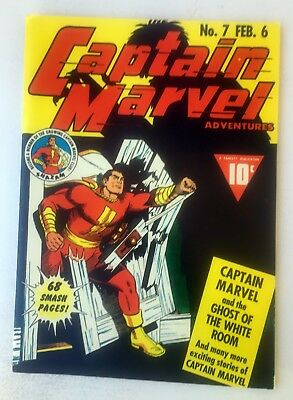CAPTAIN MARVEL #7 FROM 1942 FLASHBACK SPECIAL EDITION REPRINT #35 ~ C.C. Beck!