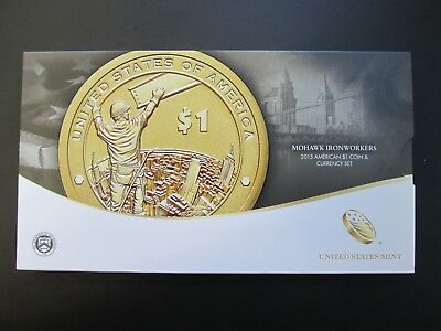 2015-W Mohawk Iron Workers Coin & Currency Set