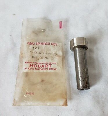Hobart Steakmaster 200 Back Stub Shaft Stud part 147 New Old Stock