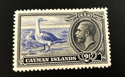 CAYMAN ISLANDS, Sc. #94 KING GEORGE PICTORIAL ISSUE OF 1935-36