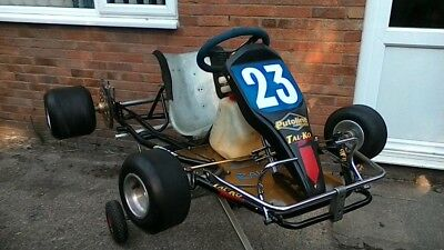 TKM Kart - BT82 - With Spares & Accessories