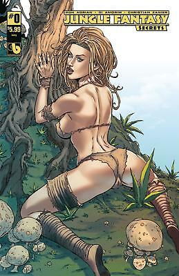 Jungle Fantasy Secrets #0 Ivory Cover B