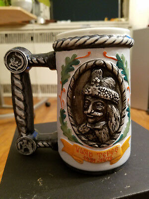 Dracula Mug souvenir from Bran Castle, Romania, handcrafted