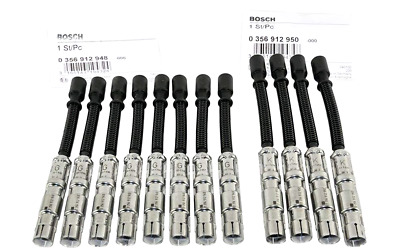 Ignition Cable Spark Plug Wire Kit Mercedes W203 210 163 208 Bosch OEM (12pcs)