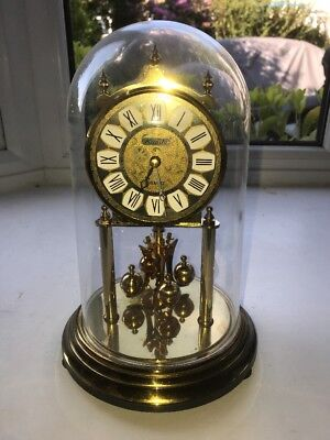 Vintage Kundo  Dome Clock For Restoration/Spares Or Repair