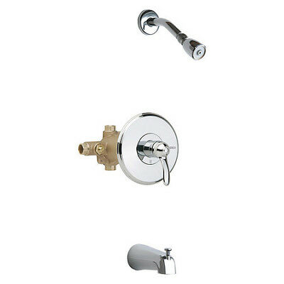 CHICAGO FAUCETS 1905-CP Thermostatic Balancing Tub And Shower