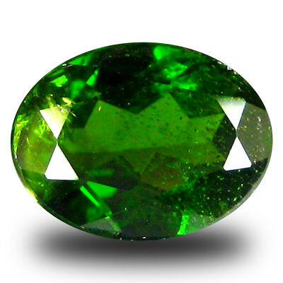 1.86 ct  Lovely Oval Shape (9 x 7 mm) Green Chrome Diopside Natural Gemstone