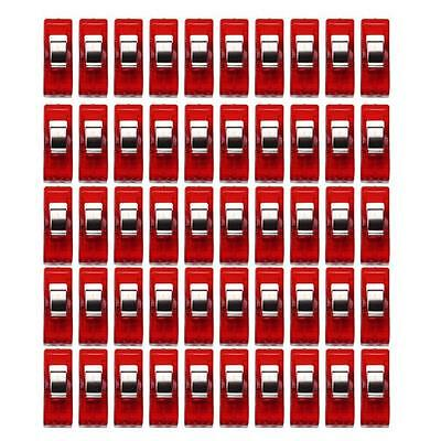 20 50pcs Plastic Quilter Holding Wonder Clips Sewing Accessories Quilt Binding K
