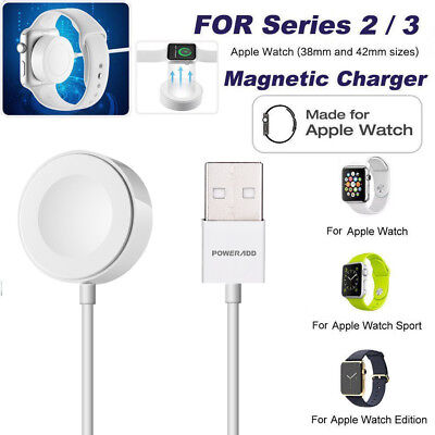 Magnetic Charger Charging Cable (1m) For Apple Watch Series 2 3 iWatch 38mm&42mm