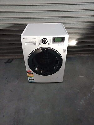 Lg 10Kg True Steam Front Loader Washing Machine