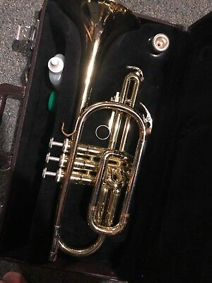 Yamaha Cornet YCR 2310 in Case Marching Band Brass Ready to Play