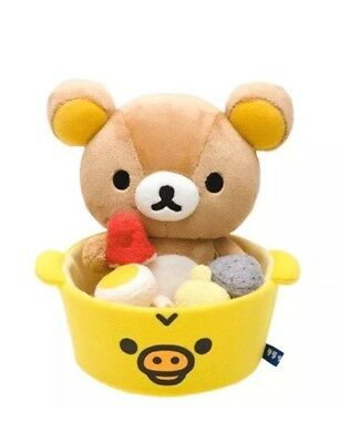 San-x Rilakkuma Lawson Limited Oden Plush Doll  Character Goods Atsume