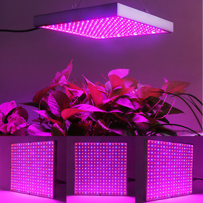 289 Ultrathin LED Hydroponic Grow Light Panel Indoor Garden Plant Blue Red Lamp