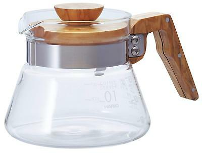 NEW HARIO coffee server olive wood 400ml VCWN-40-OV##Si