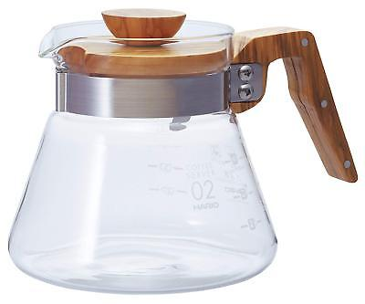 NEW HARIO coffee server olive wood 600ml VCWN-60-OV ##Si