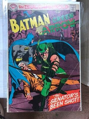 Brave & the Bold 85 Batman 1st Appearance New Green Arrow Costume Mike Grell Key