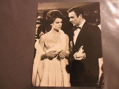 1965 James Bond Sean Connery Claudine Auger Thunderball 8X10 Publicity Photo