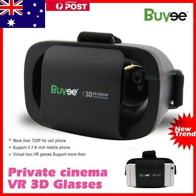 Virtual Reality VR Headset 3D Video Glasses Box for Samsung iPhone 6S 8 7 Plus