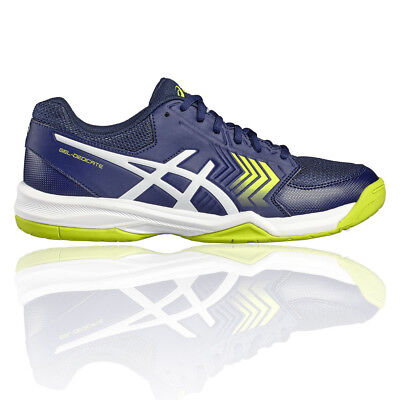 Asics Gel Dedicate 5 Mens Blue Tennis Shoes Sports Trainers Pumps Sneakers