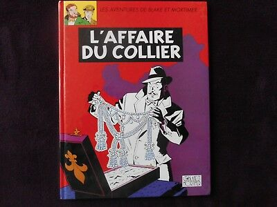 Blake et Mortimer-L'affaire du collier-Avril 1999-Edgar P. Jacobs-Bon état.