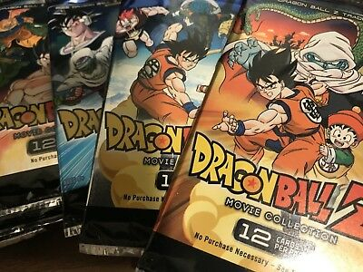 Dragon Ball Z Movie Collection Panini Trading Card 12 Card Booster Pack