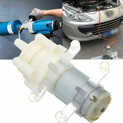 12V DC Oil Fluid Extractor Suction Water Dispenser Pump Diaphragm Self-Priming
