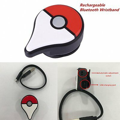 Rechargeable Bluetooth Wristband Watch Smart Game for Nintendo Pokemon Go Plus