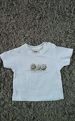 3 Pommes Baby Boy T Shirt Age 3-6 months