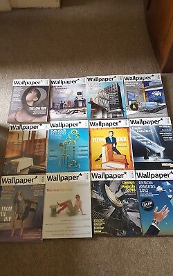 Wallpaper Magazine X12 BRAND NEW PICK UP LONDON CITY OR WEST END (ASK FOR POST)