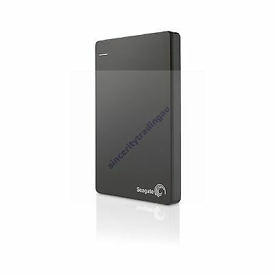 "Seagate Plus Slim Black 2Tb 2T 2 T Tb 2.5"" External Hard Disk Portable Ext Hdd"