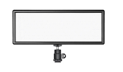 Neewer Super Slim Bi-color Dimmable LED Video Light with LCD Display, 2600mAh