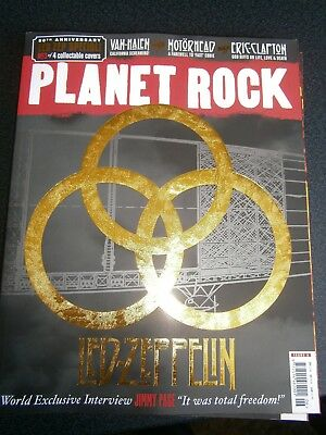 Planet Rock Magazine Issue 6 Cover 3  (new) 2018