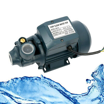 Electric Industrial Centrifugal Clear Water Pump Pool Pond Farm, 1/2HP