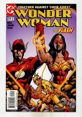 Wonder Woman and the Flash #214 NM  C547