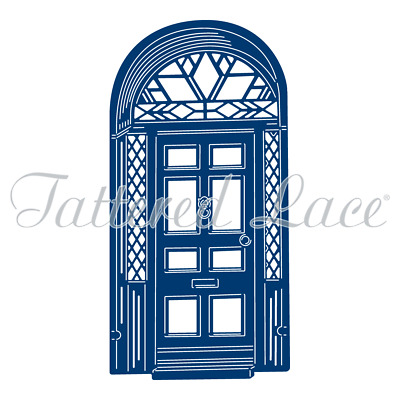 Tattered Lace ART DECO CHRISTMAS FRONT DOOR Die TLD0509 FREE UK P&P