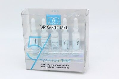 5 x 3 ml = 15 ml Flash Ampulle Dr. Gandel Professional Collection Hyaluron Five