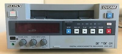 Sony Digital Video Cassette Recorder DVCAM DSR-20P