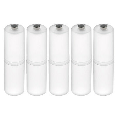 5 pcs AAA to Size AA Battery Adapters Converter Cases AA-Adapter