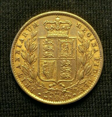 1868 Full Gold Sovereign