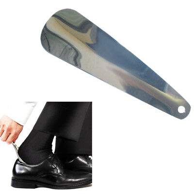 Shoe Horn Stainless Steel Shoe Horn with Leather Strap Travel Shoehorn